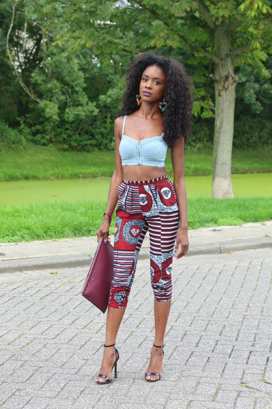 African Trouser 02