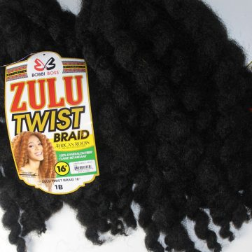 Crochet braids Bobbi Boss Zulu twist