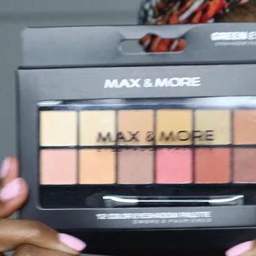 Make-up van de action voor de donkere huid getest